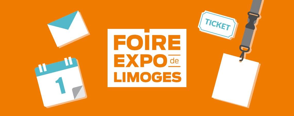 Say tout com vous attend la foire de limoges for Foire expo limoges tarif