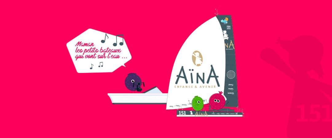 SAY TOUT COM crée l'événement avec #TeamAïna151 !