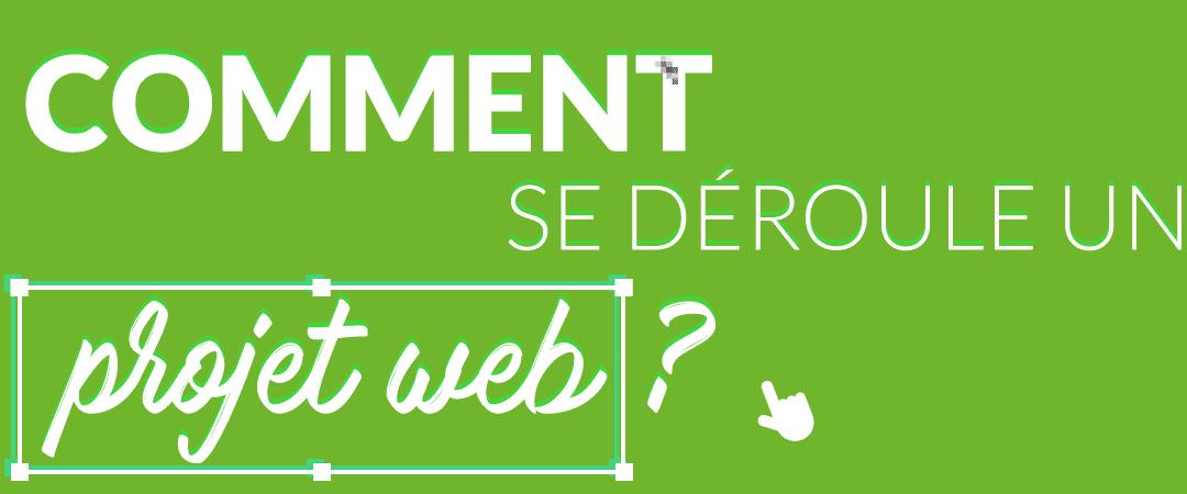 Comment se déroule un projet web ?
